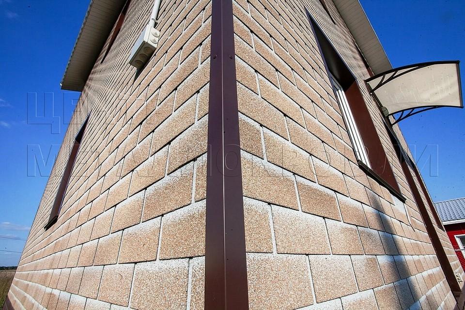 Гибкая фасадная плитка HAUBERK от «Технониколь» — современно и надёжно