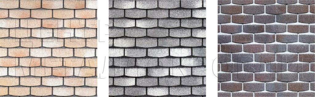 Образцы фасадной плитки - камень